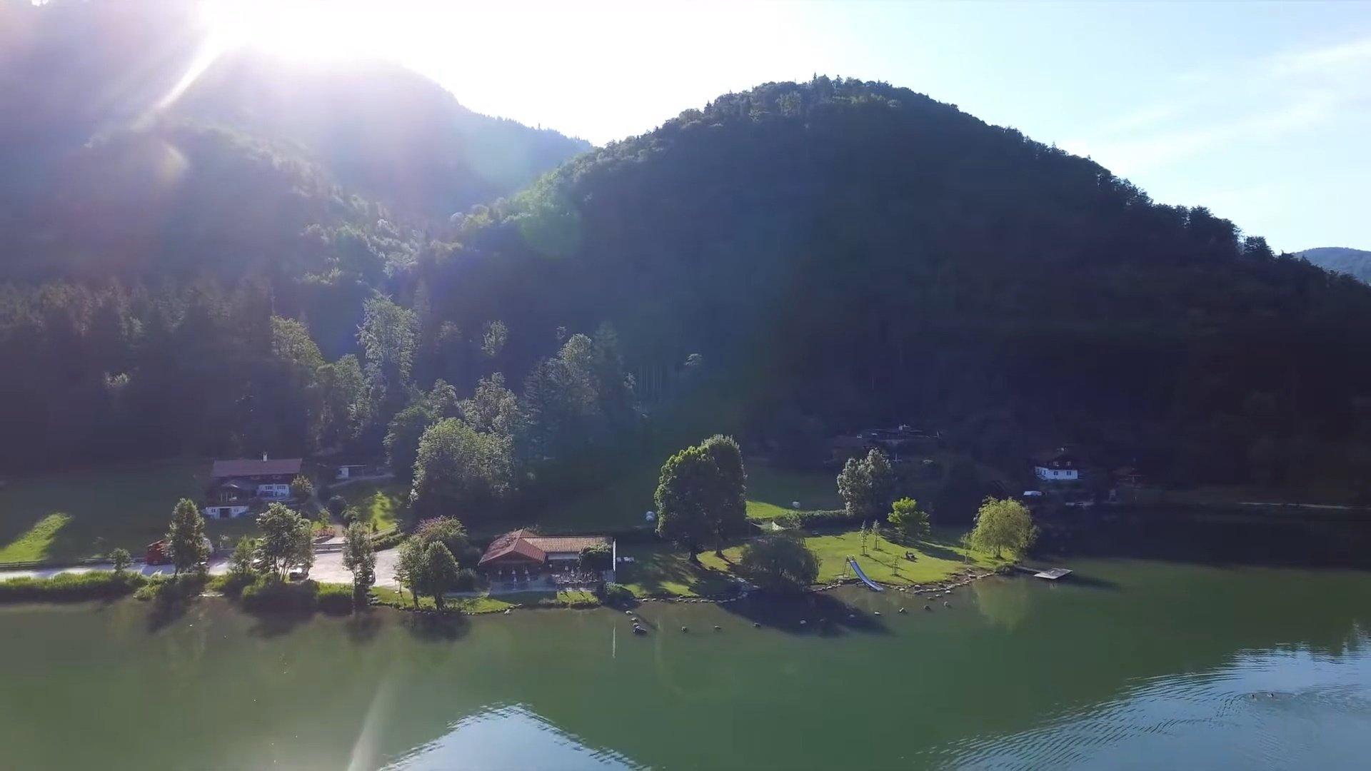 Unterwössen Chiemsee-Chiemgau Drohnenaufnahme