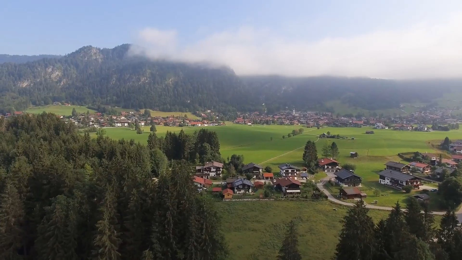 Reit im Winkl - Chiemsee-Chiemgau Drohnenaufnahme